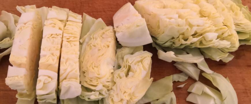 Slice Cabbage